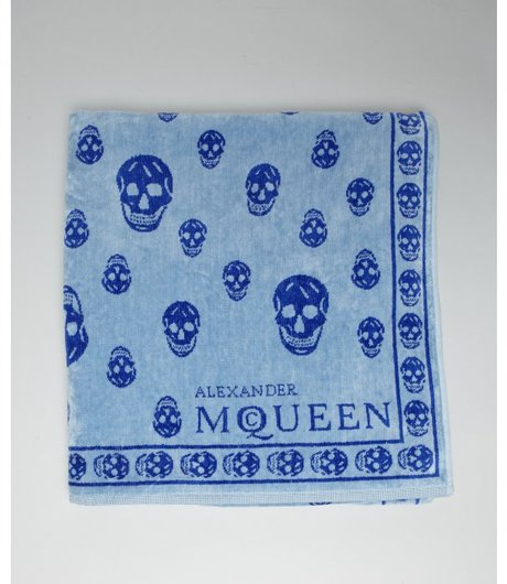 Alexander McQueen beach towel