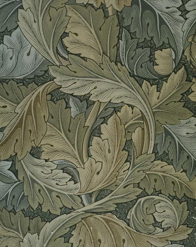 Acanthus Wallpaper William Morris 1875