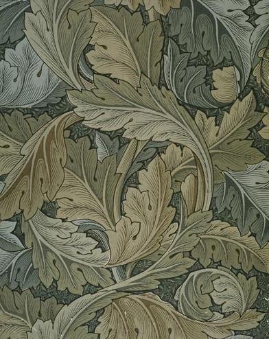 Acanthus Wallpaper William Morris 1875