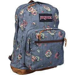 Jansport denim rose backpack
