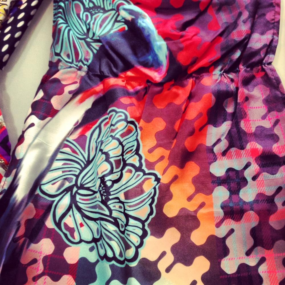 Anne Marie Jackson Original Textile Design