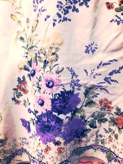 Vintage wild flower bouquet