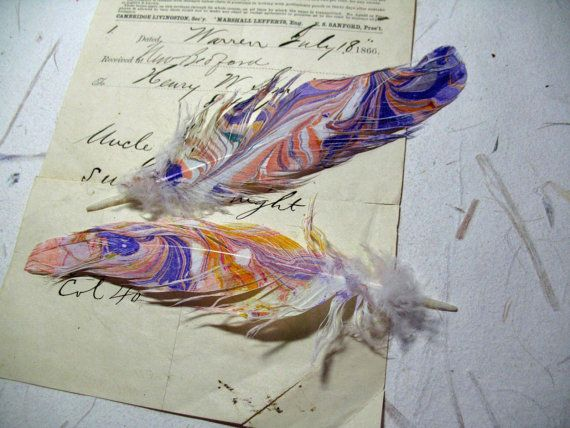 Marbled Feathers
