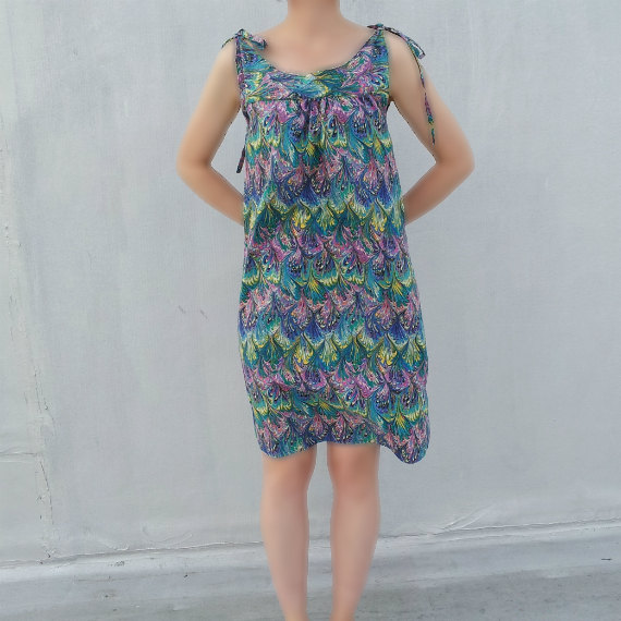 Vintage Marbled Dress