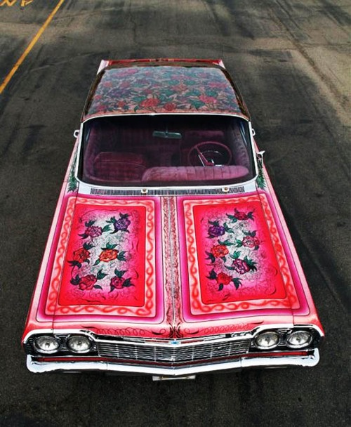pattern occurring car