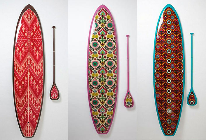 Stand up paddle boards SUP By  Saffron James