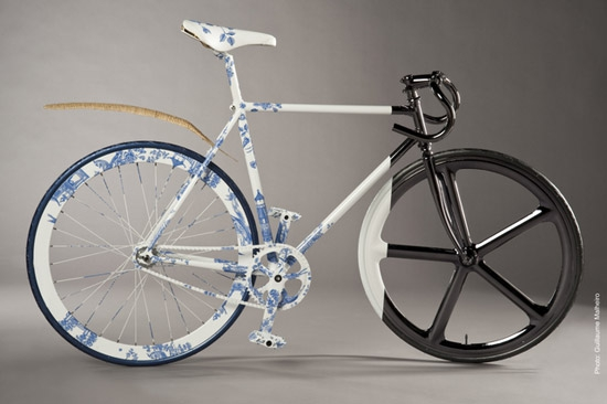 Francois Duris Peugeot bike