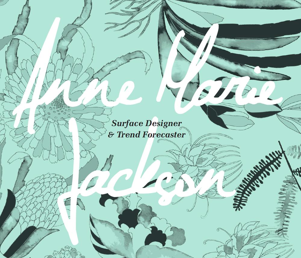 Anne Marie Jackson Textile Designer Trend Forecaster