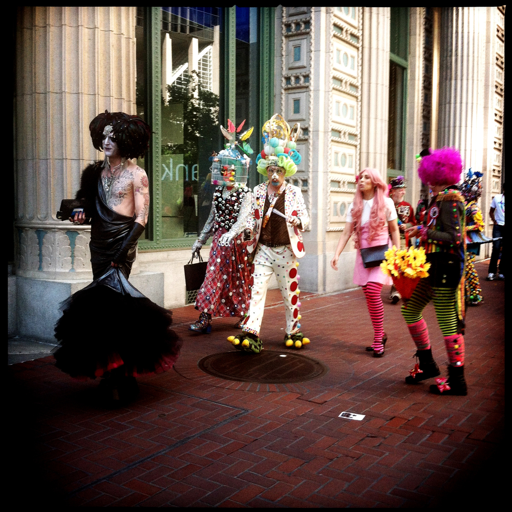 Dress Up - iPhone photo from the parade route
