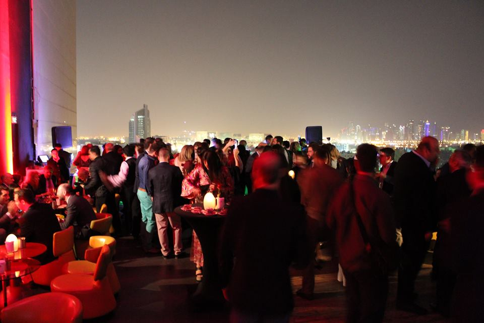 Sky View Bar is located at the rooftop of La Cigale Hotel