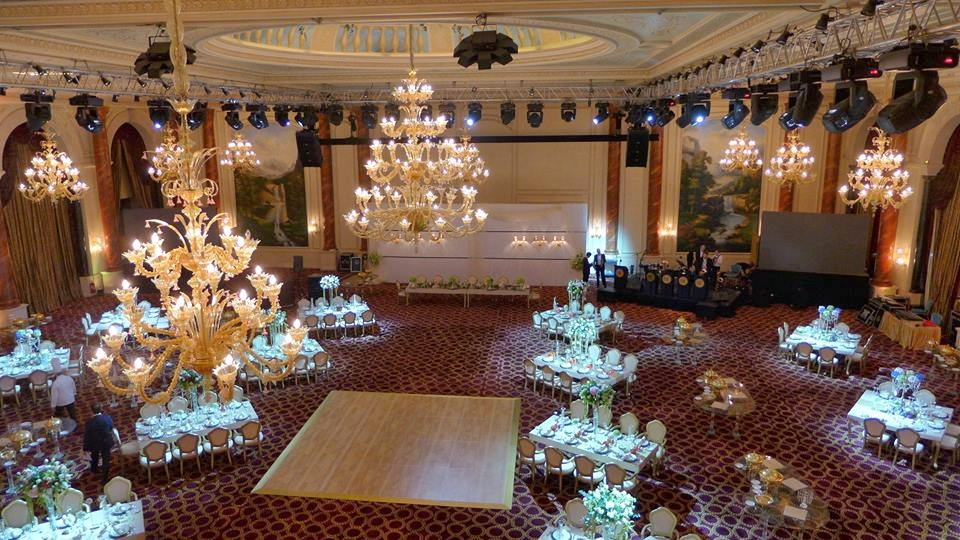 Main wedding party at Al Wajba ballroom, the largest in Doha