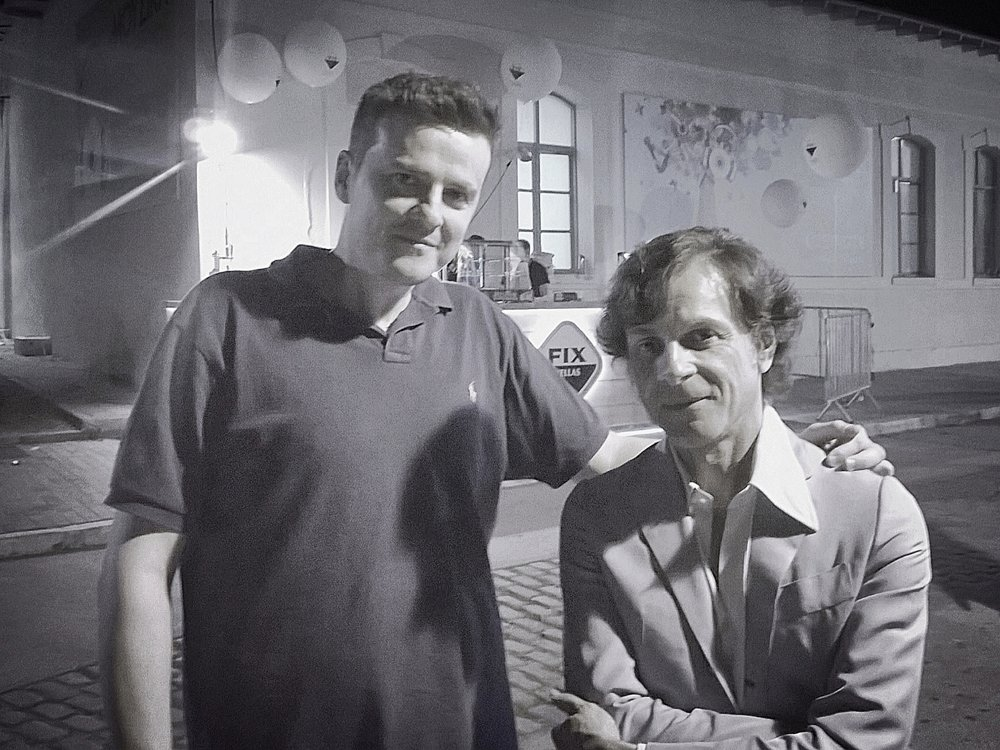 Panos with  Nicola Conte