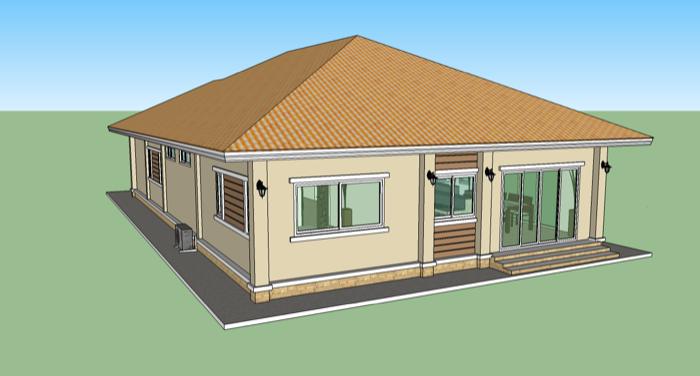 Phen - 3 Bedroom Home Design (No.2) — NKD