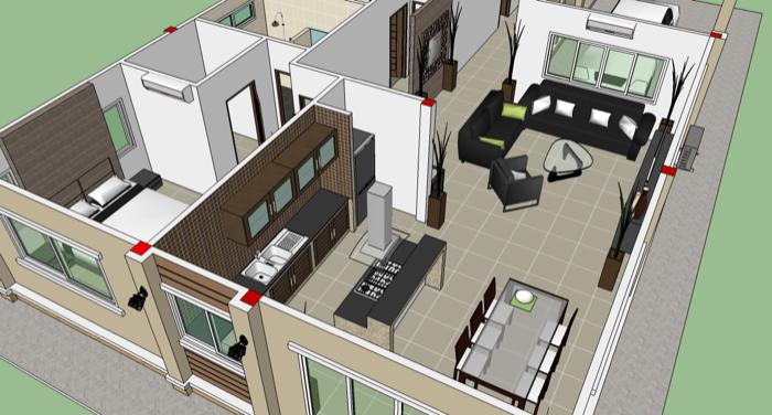 Phen 3 Bedroom Home Design No 2 NKD