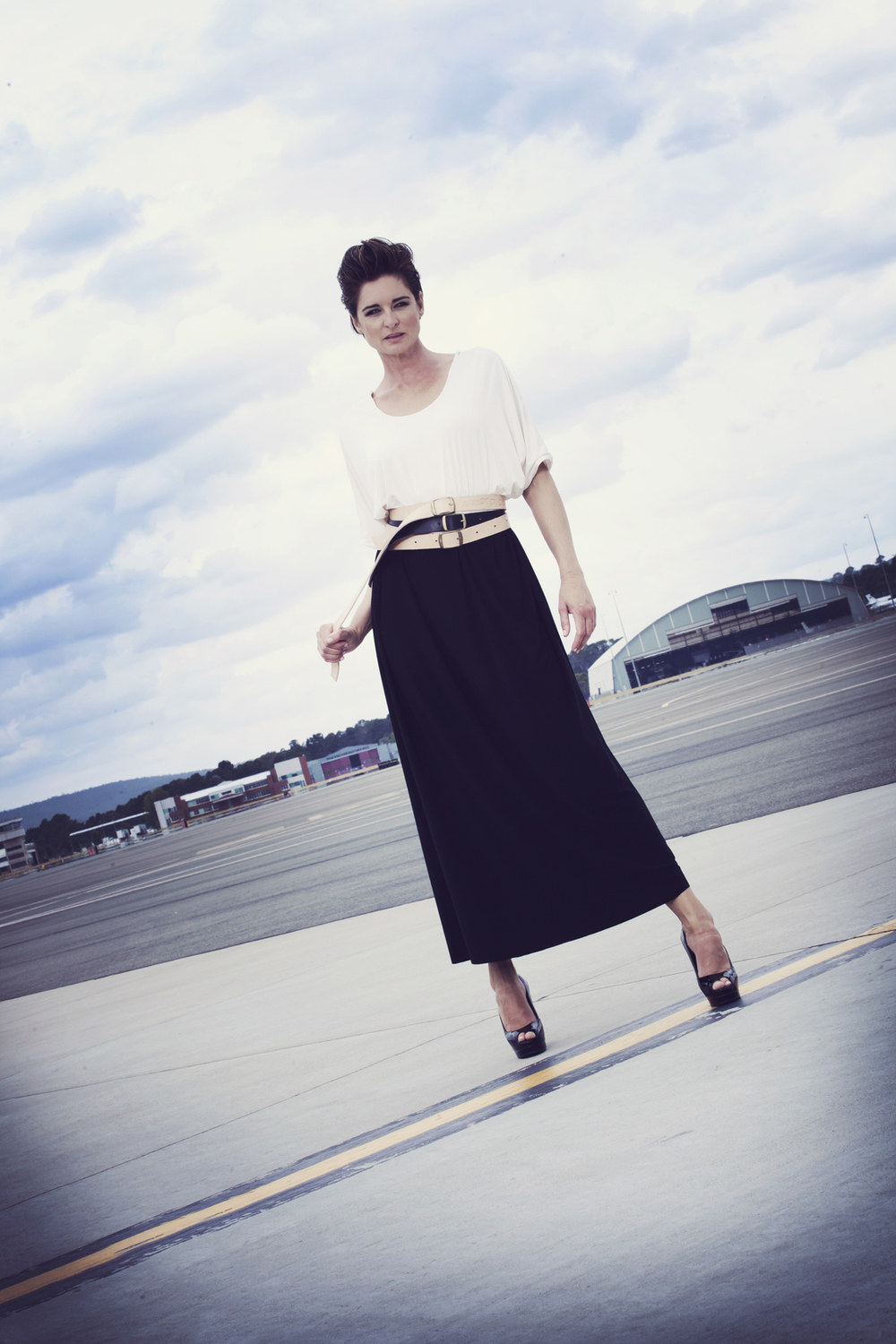 Photo: Leighton Hutchinson | Model: Belinda RIding | Location: Canberra Airport