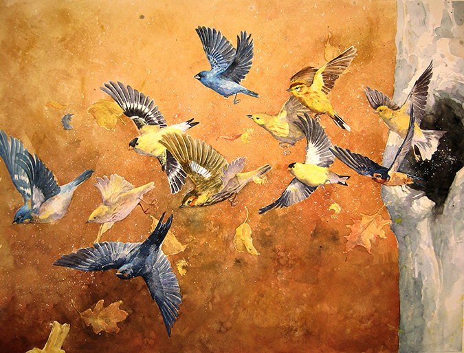 Migration by Alexa Carson