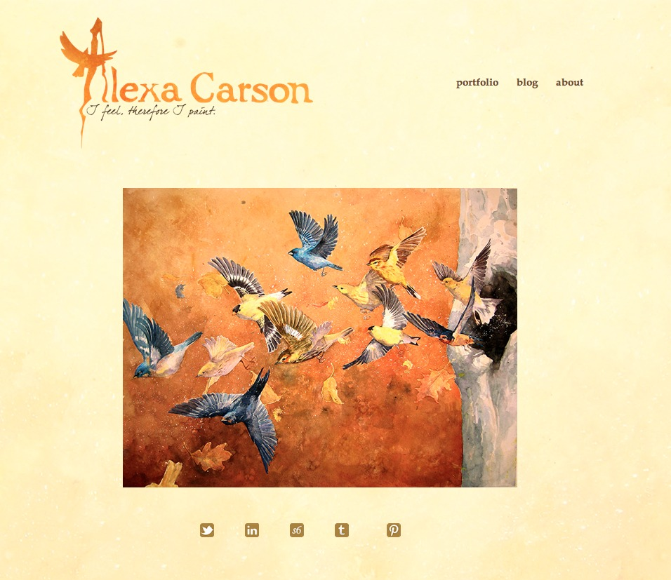 Hey guys check out my website! Its up and running. Just a few more tweaks and we're ready to rumble!    www.alexacarson.com