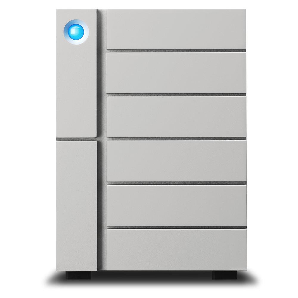 6big Thunderbolt3 - 6 drive 24, 36, 48 60TBRAID0 RAID5 RAID62x Thunderbolt3 + USB-C