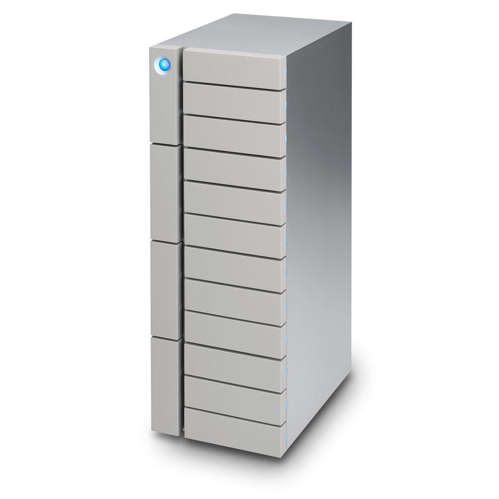12big Thunderbolt3 - 12 drive RAID5 RAID648TB 72TB 96TB 120TB2x Thunderbolt3 + USB-CThunderbolt2 via opt. Apple Thunderbolt AdaptorThunderbolt3 kabelUSB-C USB-C kabelUSB-C USB3 kabelDownload Data Sheet