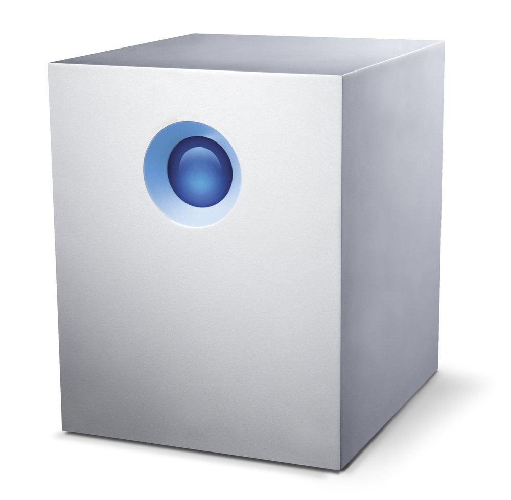 5big Thunderbolt2 - 5 drive RAID5 RAID620TB 30TB 40TB2x Thunderbolt2 poortThunderbolt2 kabelDownload Data Sheet