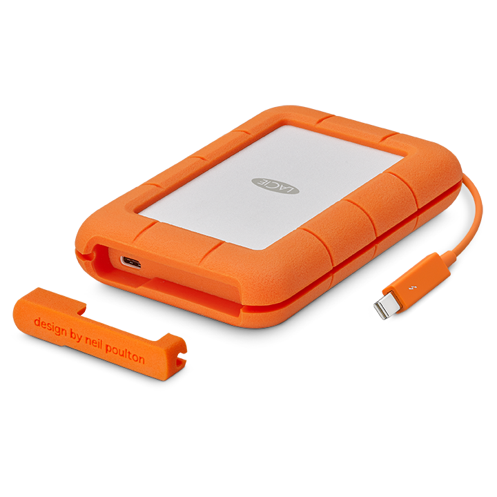 Rugged Thunderbolt USB-C - 2TB 4TB 5TBUSB-C poort + geïntegreerde Thunderbolt2 kabelUSB-C USB-C kabelUSB-C USB3 kabelDownload Data Sheet