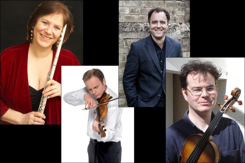 Nash Ensemble - Philippa Davies, Benjamin Nabarro, Scott Dickinson and Adrien Brendel