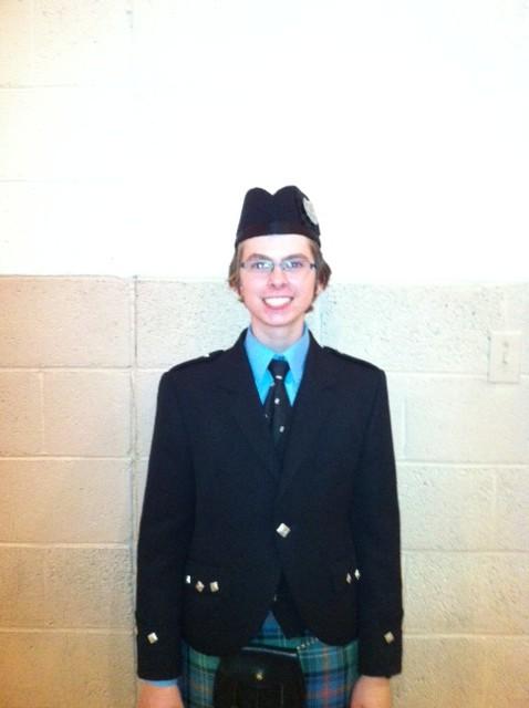 Ben Newcomb:  Grade 2 Overall Champion Supreme