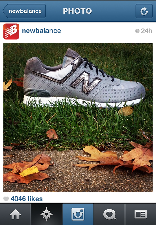 Thanks for featuring our DDCLAB for NEW BALANCE reflective sneaker shoe on instagram...did this 3 years ago!