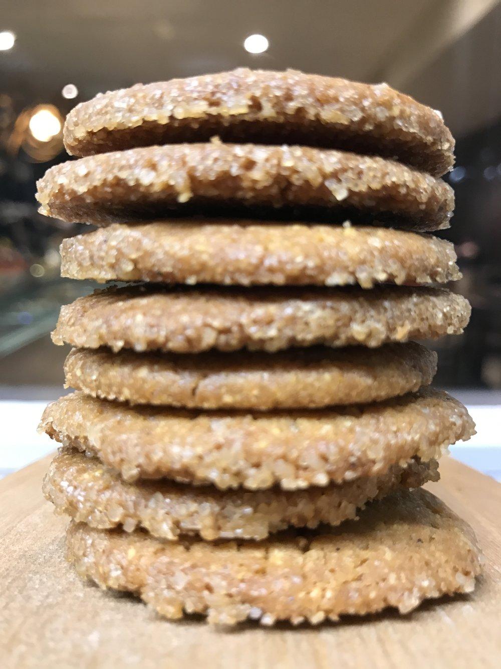 Biscotti al gruè di cacao