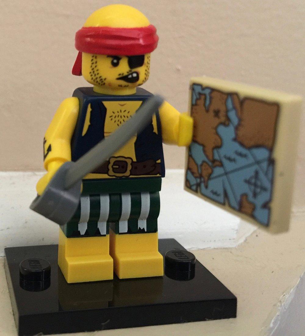 Lego Minifigures Series 16 Pirate