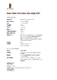 Maso Thaler Scheda Pinot Nero 2009.jpg