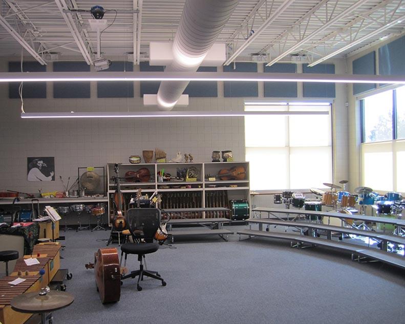 RIDGEVIEW ELEMENTARY SCHOOL MUSIC ROOM ADDITION