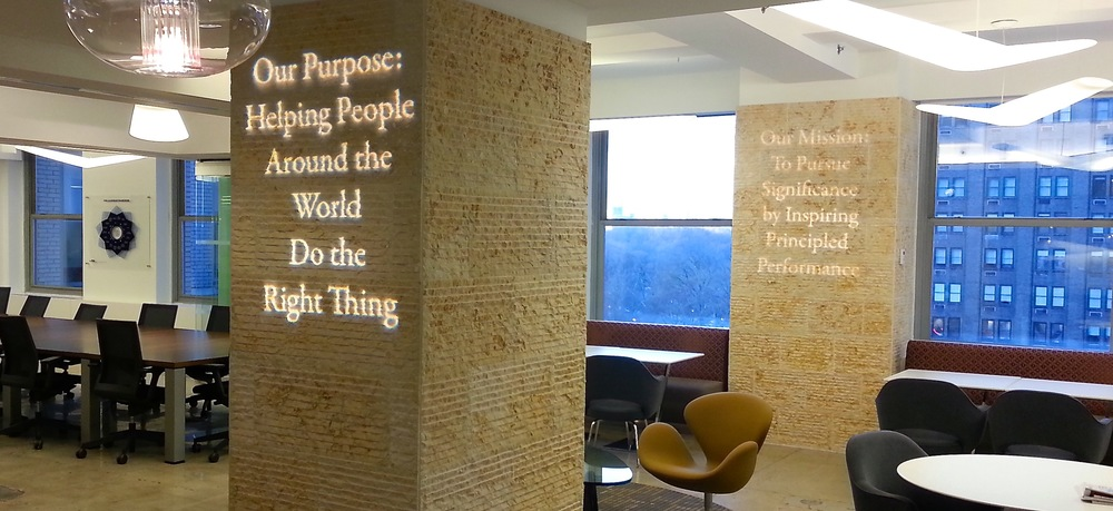 If we talk, remind me to tell you a story about these lit messages in LRN's Fifth Avenue, NYC offices.