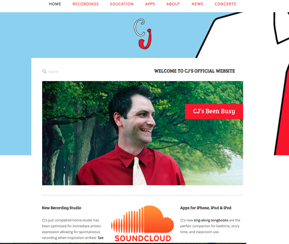 CJ Kids Music News Blog - New Website