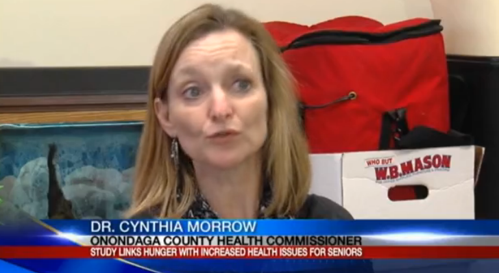 Dr. Cynthia Morrow, MD, MPH, Commissioner of Health, Onondaga County Health Department