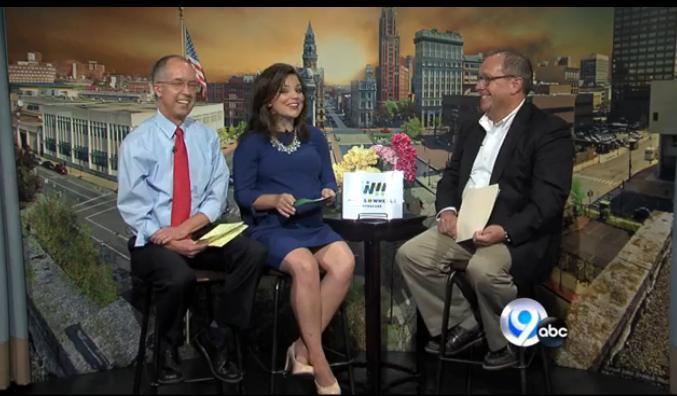 (L-R) Jim Teske, Sistina Giordano, Dave Allen