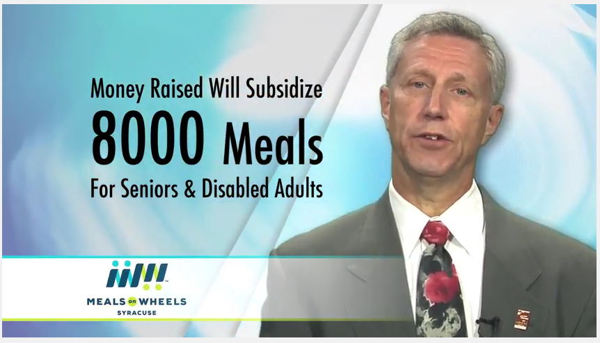 Mason Kaufman, Executive Director, Meals on Wheels of Syracuse