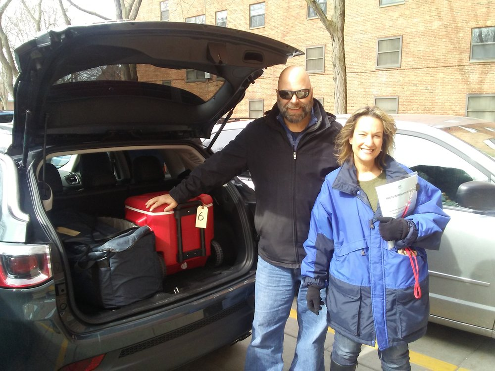 Ted and Amy 93Q Meals On Wheels Of Syracuse