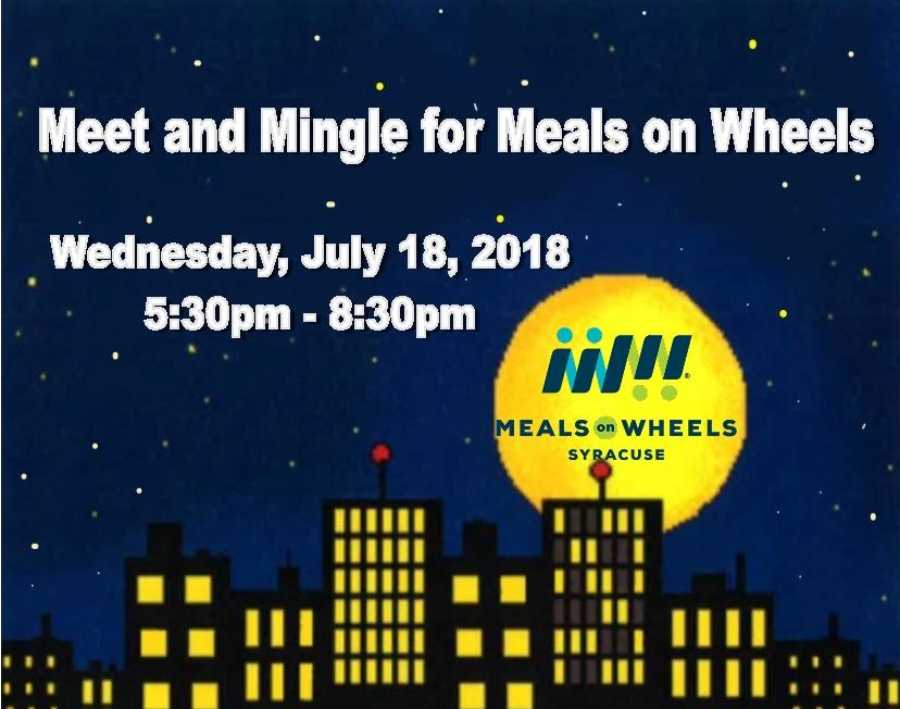 Meet and Mingle for Meals On Wheels Of Syracuse