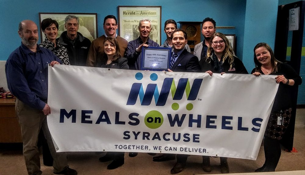 Meals on Wheels of Syracuse and the Centerstate CEO Ambasadors