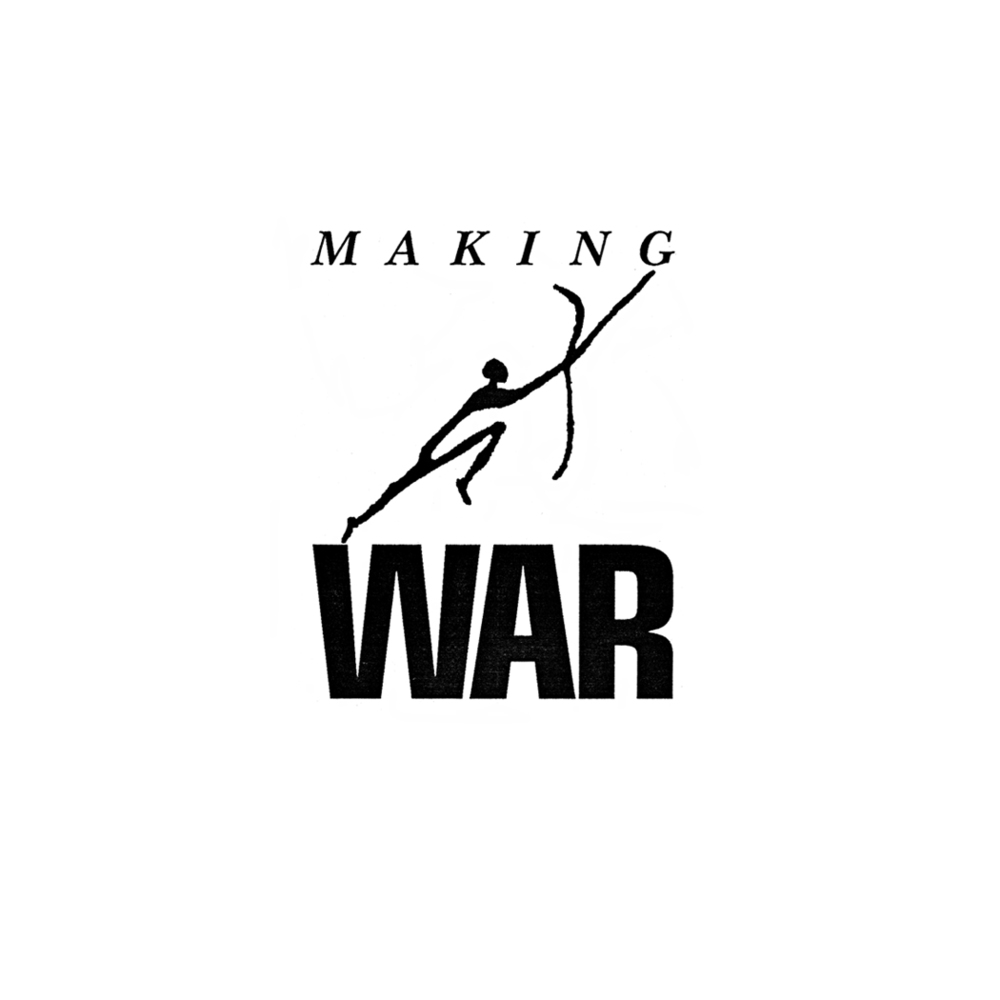 Making War logo/title for a documentary film.