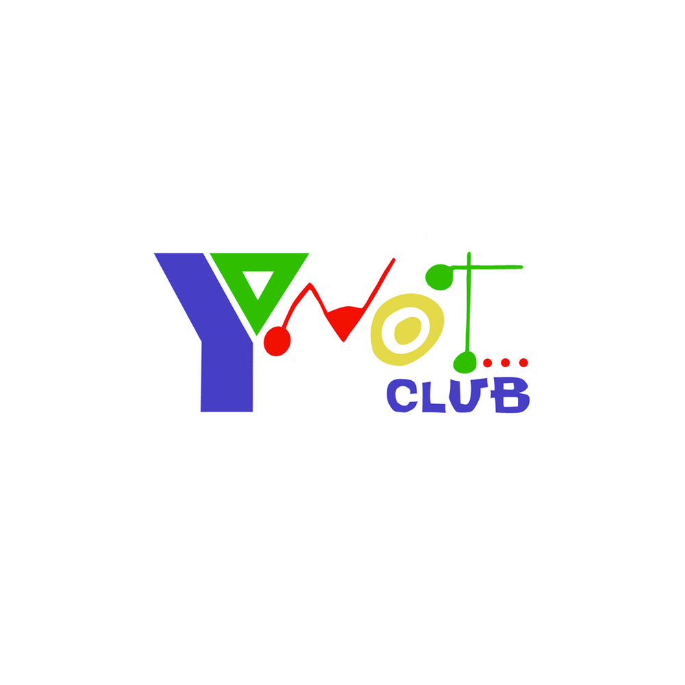 Y Not Cafe logo was designed for signage, t-shirts and baseball caps for the teen center at The South Shore YMCA