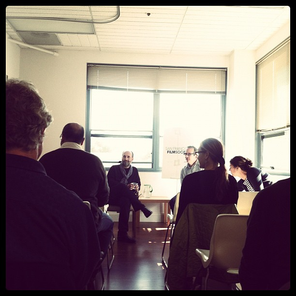 At #SFFilmHouse today, @marcdschiller w/ wise words on digital marketing! Intro by @tedhope (at FilmHouse)