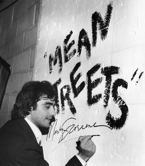 Martin Scorcese, whose Mean Streets premiered at SFIFF in 1973—this may or may not be him signing a wall at that very festival. via emmafgreen
