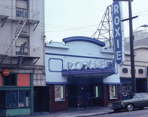 roxietheater :     June 1975     Love that purple! And wow, 16th Street is lookin' good too.