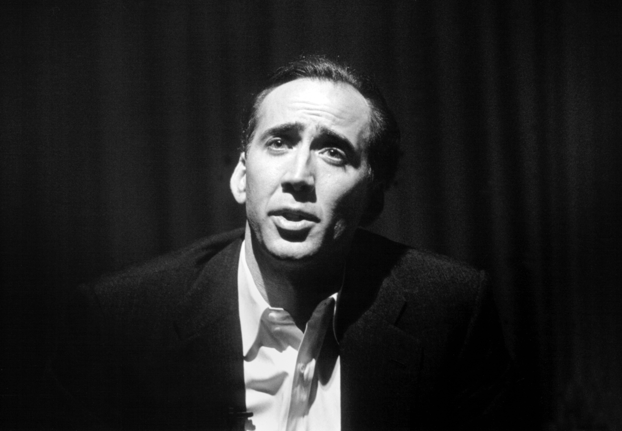 Peter J. Owens Award winner Nicolas Cage at the 41st San Francisco International Film Festival, 1998. Though Face/Off had just come out the year before, we screened Birdy. Photo by Pamela Gentile