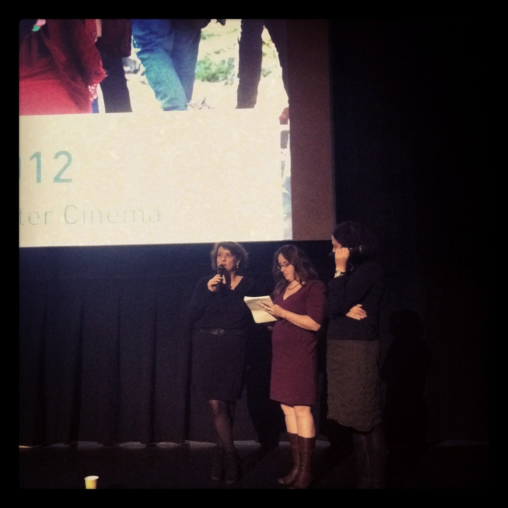 Camille Rewinds  Director Noémie Lvovsky answers audience questions at French Cinema Now last night.