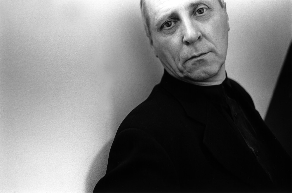 Peter Greenaway at the 40th San Francisco International Film Festival, 1997. Photo by Pamela Gentile.