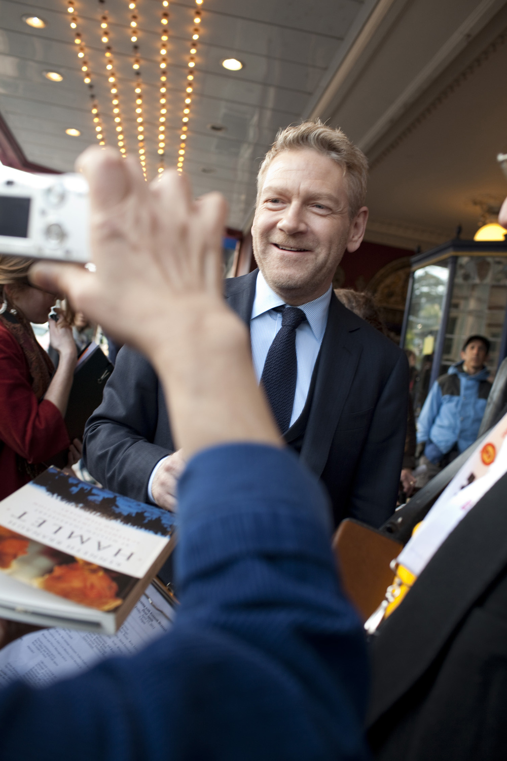 4/26: Award Winners and Cows     photo by Pamela Gentile   What did Award recipient Kenneth Branagh do during the day before the Film Society's Awards Night Gala? He went to see the Swedish documentary  Women with Cows .  And he liked it. And he talked about it on the radio the next day.