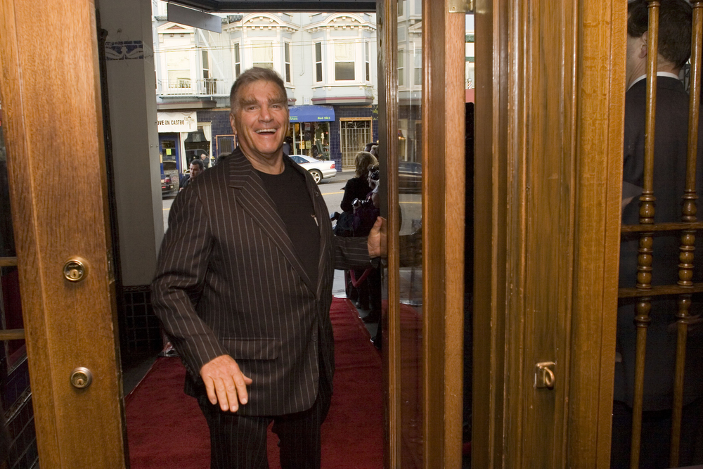 George Gund III arrives at the Castro Theatre for the Opening Night of the 49th San Francisco International Film Festival, April 20th, 2006.  Photo by Pamela Gentile.